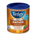 Tetley Super Herbal Tea Antiox - Apple, Cinnamon and Turmeric with Vitamin C