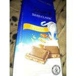 Lindt Swiss classic crunchy