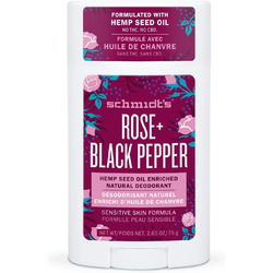 Schmidt's Rose + Black Pepper Natural Deodorant