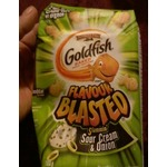 Pepperidge Farm Goldfish Flavour Blasted Slammin' Sour Cream & Onion Baked Snack Crackers