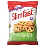 Slimfast Sour Cream and Chive Pretzels