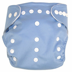 Trend Lab Adjustable Cloth Diaper with Liner, Blue