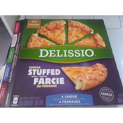 Delissio 4 cheese stuffed pizza