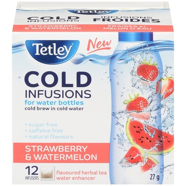 Tetley Cold Infusions - Strawberry & Watermelon