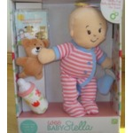 """Manhattan Toy Girls Wee Baby Stella Sleepy Time Scents Soft Doll Set, 12"""""""