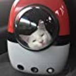 AntTech Breathable Pet Travel Poke Ball Backpack Space Capsule Carrier