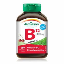 Jamieson Vitamin B12 Fast Dissolving Tablets