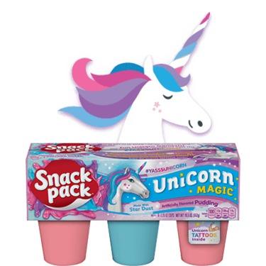 Snack Pack Unicorn Magic Pudding