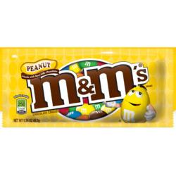 M & M's peanut chocolate candies