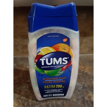 Tums Antacid Assorted Fruit