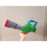 play doh leaf blower bubble maker