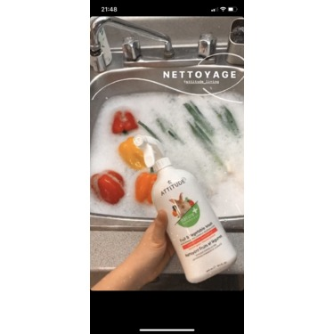 Attitude - Fruit and vegetable wash