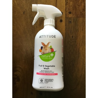 Attitude Fruit & Vegetable Wash