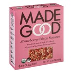 MadeGood Strawberry Crispy Squares