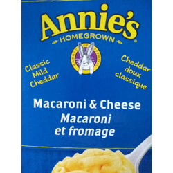 Annie's homegrown macaroni and cheese