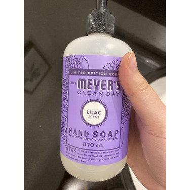 Mrs. Meyers Clean Day Lilac Hand Soap