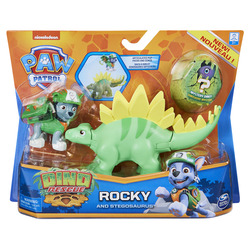 PAW Patrol Dino Rescue Pup and Dinosaur Action Figure Set