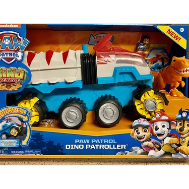 PAW Patrol Dino Rescue Dino Patroller Motorized Team Vehicle