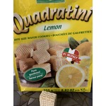 Loacker Quadratini Lemon Bite Size Wafer Cookies