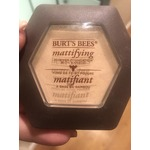Burts bees mattifying powder foundation
