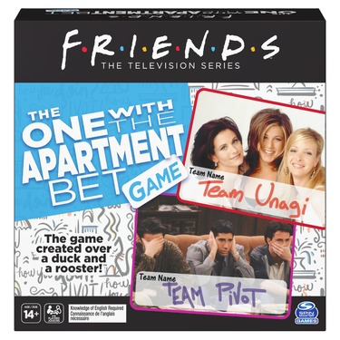 Friends TV Show, The One with the Apartment Bet Party Game