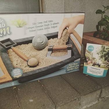 Kinetic Sand Kalm, Zen Box Kinetic Sand Set for Adults