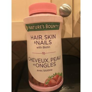 Nature's bounty hair, skin & nails