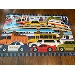 Melissa And Doug Traffic Jam Jumbo Floor Puzzle 24pc