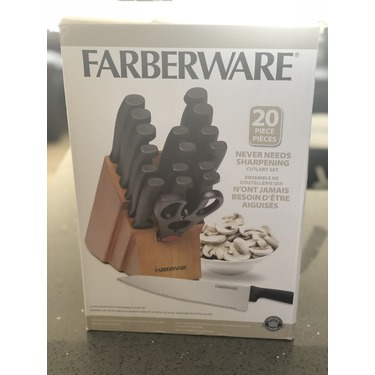 Farberware 20 piece cutlery set