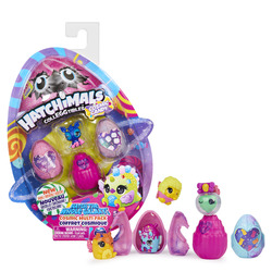Hatchimals CollEGGtibles Cosmic Candy Multipack with 4 Hatchimals