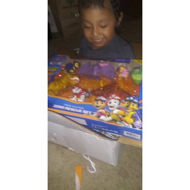 PAW Patrol Dino Rescue Set with 6 Collectible Pup and Dinosaur Figures