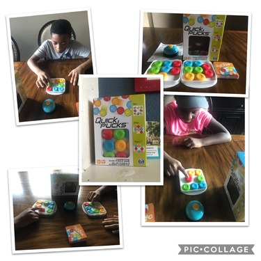 Quick Pucks Pattern Matching On-the-Go Puzzle Game