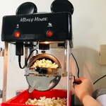 disney mickey mouse kettle-style popcorn popper