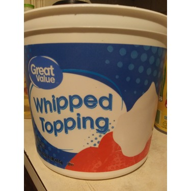 Great value whipped topping