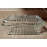 Circleware Farm Glass Butter Dish