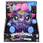 Hatchimals CollEGGtibles Unikeet Glamfetti 5-inch Tall Bank with 8 Exclusive Characters