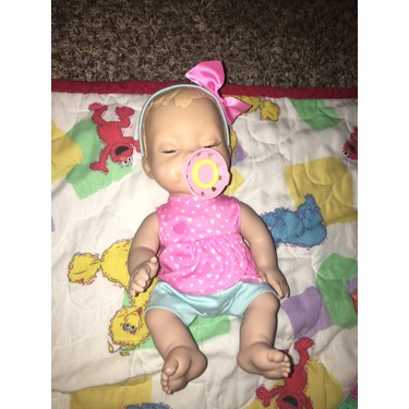 Mealtime Magic Mia Interactive Feeding Baby Doll