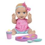 Mealtime Magic Mia Interactive Feeding Baby Doll