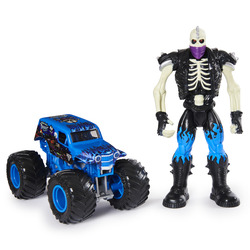 Monster Jam Official Son-Uva Digger Monster Truck and 5-inch Scrap Action Figure