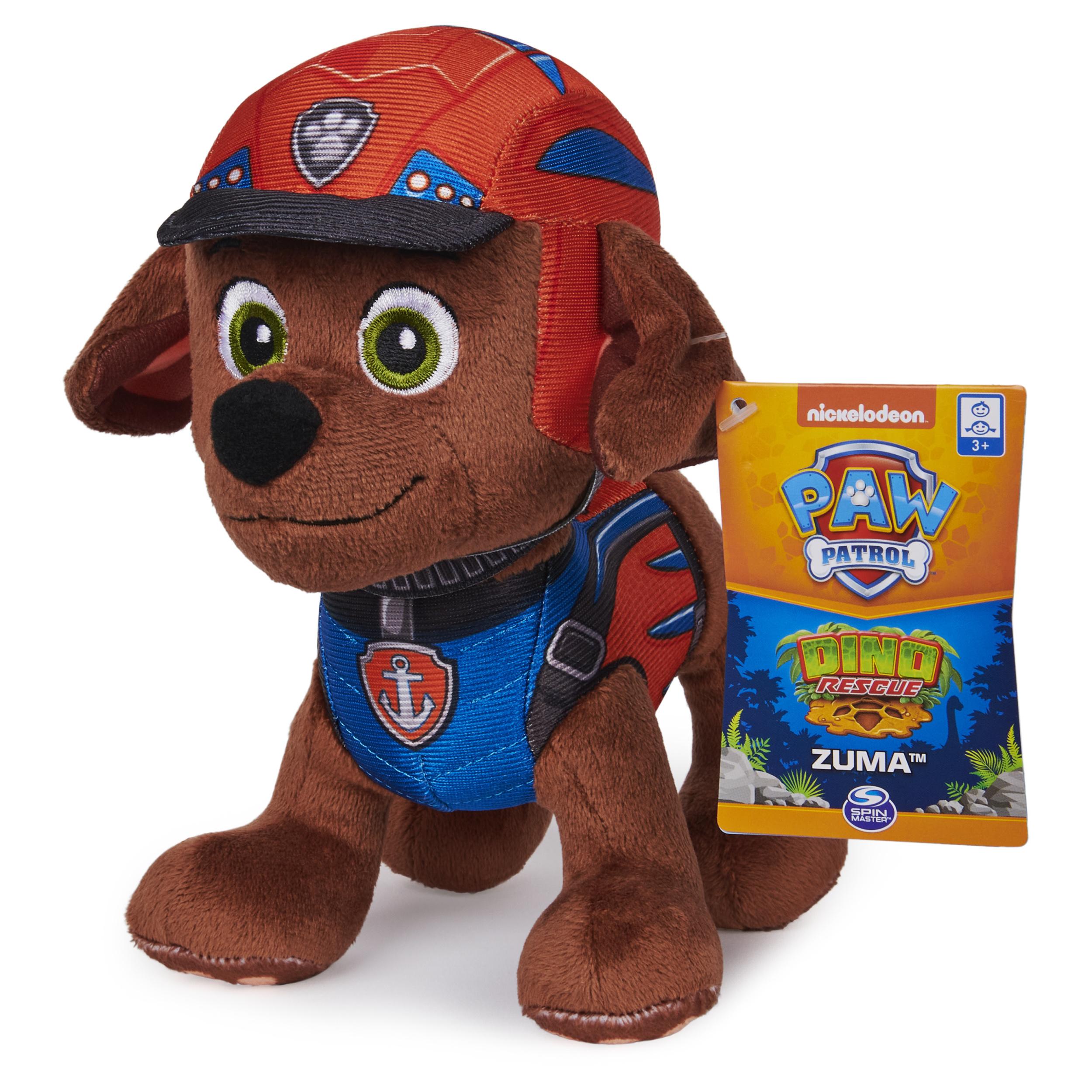 Nickelodeon Paw Patrol Chase Dino Rescue Plush