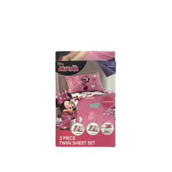 Minnie 3 piece twin sheets