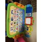 VTech Touch and Learn Activity Desk Bundle With 32 page Expansion Pack