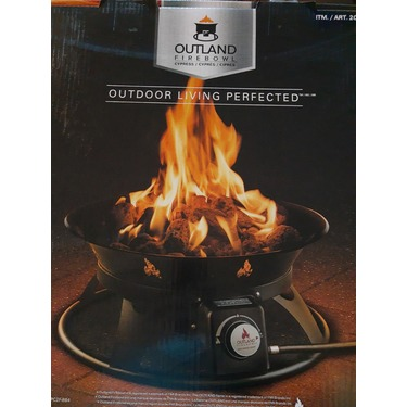 Outland Cypress Firebowl reviews in Lawn, Garden, & Patio ... on Outland Firebowl Cypress id=20765