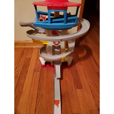 PAW Patrol Adventure Bay Rescue Way Playset, True Metal