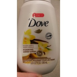 Dove Sugar Cane & Warm Vanilla Foaming Hand Wash