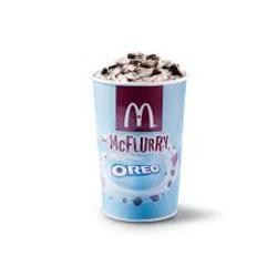 McDonald's skor mcflurry