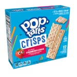 Kellogg's pop tart thins minces frosted Strawberry flavour