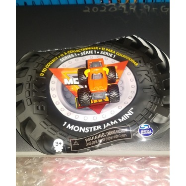 Monster Jam Mini Vehicles Blind Pk Assortment