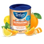 Tetley Super Herbal Sunshine – Lemon & Orange with Vitamin D