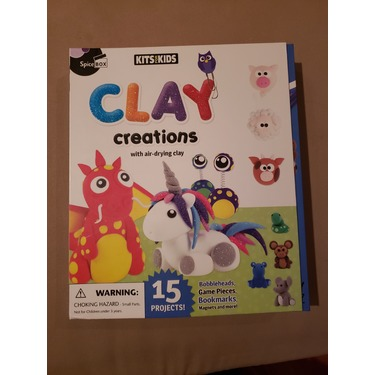 Clay Creations by Spiceboxbooks